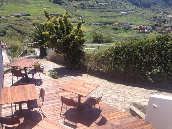 Ausblick Terrase Ferienwohnung Finca Los Geranios